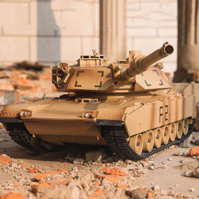 英萊兒 美式M1A2遙控坦克模型玩具遙控車玩具車兒童軍事模型男孩  ykdd02