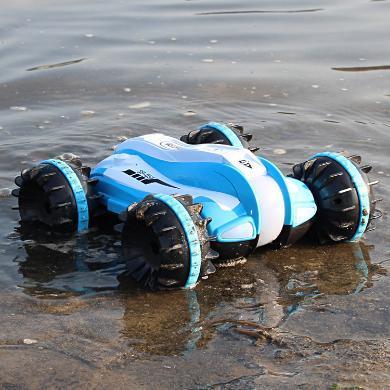 樂心多 遙控汽車水陸兩棲車兒童玩具男遙控越野水陸車充電賽車遙控車 ykdd42