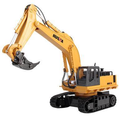 樂心多 兒童工程車玩具仿真合金版挖掘機松土機充電電動玩具模型匯納玩具 ykdd60