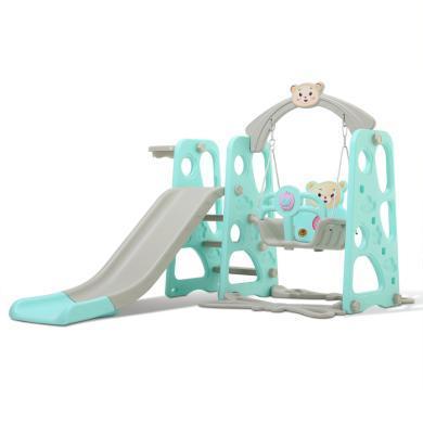 滑滑梯秋千儿童室内家用游乐?#30333;?#21512;幼儿园多功能宝宝滑梯小孩玩具小熊基础款