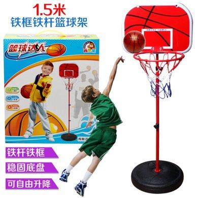熱賣戶外室內兒童升降籃球架 投籃休閑運動親子互動男孩健身玩具ABB553-15