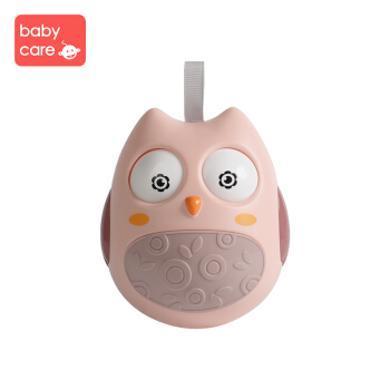 babycare不倒翁玩具 婴幼儿益智玩具0-1岁 宝宝早教启蒙玩具MBL0201猫头鹰