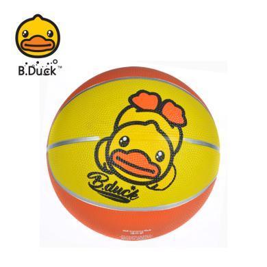 正版小黃鴨B.DUCK兒童5號橡膠球