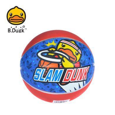 正版小黃鴨B.DUCK兒童3號橡膠球