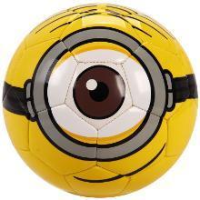 正品迪士尼小黄人漫威儿童3D卡通礼盒足球 PVC车缝卡通2号足球