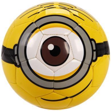 正品迪士尼小黃人漫威兒童3D卡通禮盒足球 PVC車縫卡通2號足球