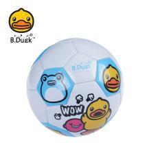 BDB82004-B 正版小黄鸭B.DUCK儿童3号橡足球