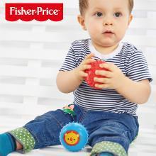 费雪拍拍小皮球儿童按摩训练球玩具婴幼儿3-6-9个月宝宝手抓球