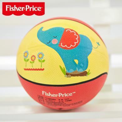 美国Fisher-Price费雪卡通玩具球F0515小皮球拍拍球儿童篮球幼儿园专用婴儿宝宝足球球类玩具男孩