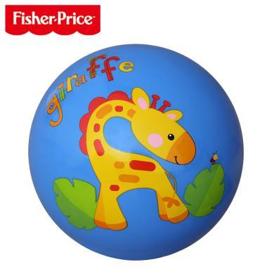 美国Fisher-Price费雪拍拍球F0516H*小皮球拍拍球弹力球儿童无毒弹跳幼儿园专用球球类玩具宝宝球