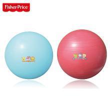 费雪儿童健身球成人儿童按摩球瑜咖球加厚防爆婴儿充气球玩具