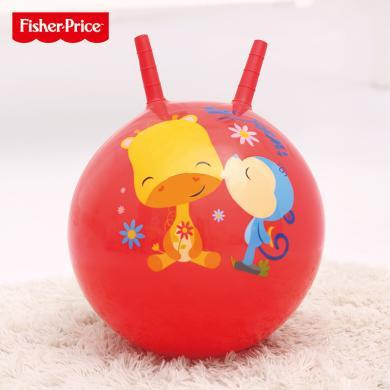 美國Fisher-Price費雪跳跳球45cm兒童玩具彩虹疊疊球寶寶跳跳球嬰兒玩具男孩女孩小孩玩H1007H1-4