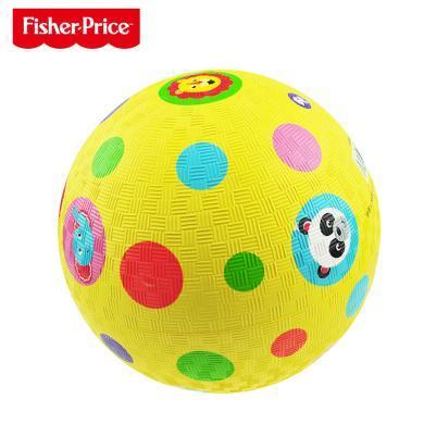 費雪小皮球拍拍球兒童籃球幼兒園專用嬰兒寶寶足球球類玩具男孩