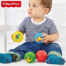 费雪婴儿玩具0-1岁宝宝手抓球新生儿小皮球幼儿手摇铃3-6-12个月
