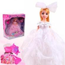 聚优艾芘儿正品儿童玩具12关节真眼艾芘儿娃娃高档礼服礼盒信DB-6301