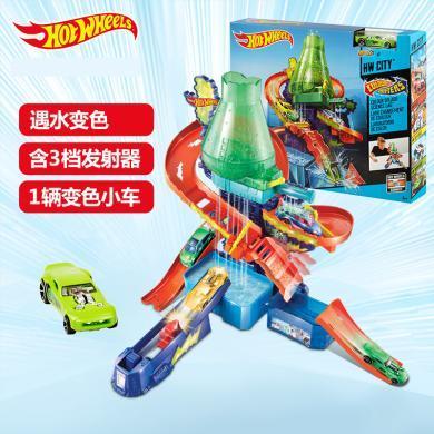 风火?#30452;?#33394;小车科学实验室轨道儿童汽车玩具电动轨道?#30340;?#23401;玩具