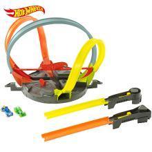 风火轮双向撞击轨道 竞技互动轨道 儿童玩具小汽车赛道小孩玩具