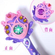 海阳之星 自动魔法泡泡棒 音乐闪光棒 儿童电动泡泡枪吹泡泡玩具HY-SS595868