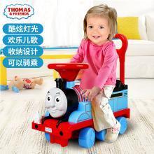 THOMAS 托马斯婴儿学步车7-18个月宝宝踏行车防侧翻滑行手推车儿童带音乐【送托马斯98元玩具】