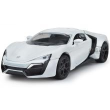 1:32迪拜萊肯跑車合金車聲光回力仿真車模兒童玩具車模型DJ-JY32013