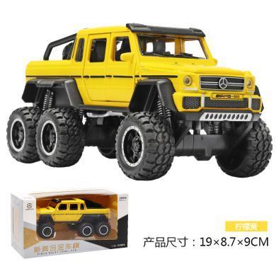 仿真六輪奔馳G63越野合金汽車模型 兒童聲光玩具DJ-XA3210