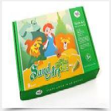 美樂 沙畫禮盒套裝安全環保兒童彩砂畫手工DIY繪畫 創意禮物