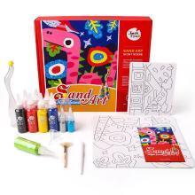 美樂 兒童沙畫套裝沙畫兒童diy手工畫制作益智玩具沙畫兒童彩沙