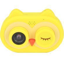 宝宝拍玩具mini相机高清男女孩卡通拍照便携猫头鹰儿童相机16G
