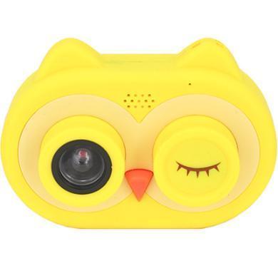 寶寶拍玩具mini相機高清男女孩卡通拍照便攜貓頭鷹兒童相機16G