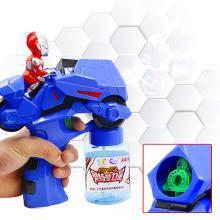 萌牛星 新款兒童奧特曼泡泡槍玩具廣場戶外秋游玩具