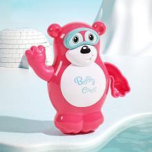 babycare 嬰兒洗澡玩具游泳企鵝男女孩戲水寶寶1-3歲沐浴泡澡玩具 7132游泳北極熊/7133游泳企鵝