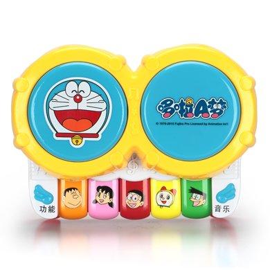 哆啦A夢寶寶手拍鼓音樂兒童拍拍鼓早教益智嬰兒玩具6-12個月