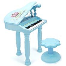 小才童电子琴钢琴3-6-10-12周岁大号女孩玩具可弹奏881592YZQD