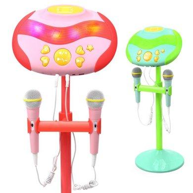 益米小孩擴音麥克風兒童話筒卡拉ok點歌臺唱歌音樂男女孩兒童禮物