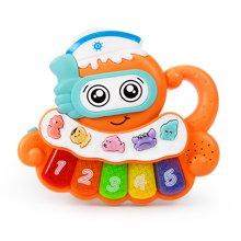 知识花园儿童电子琴宝宝早教音乐小钢琴婴幼儿益智玩具初学0-1-3岁男女孩