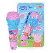 小猪佩奇宝宝话筒儿童麦克风音乐启蒙早教玩具无线唱歌回音话筒