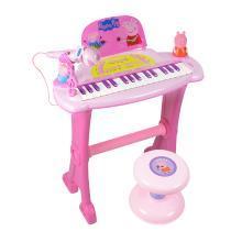 小猪佩奇花仙子款钢琴儿童初学女孩男孩音乐玩具礼物佩奇钢琴