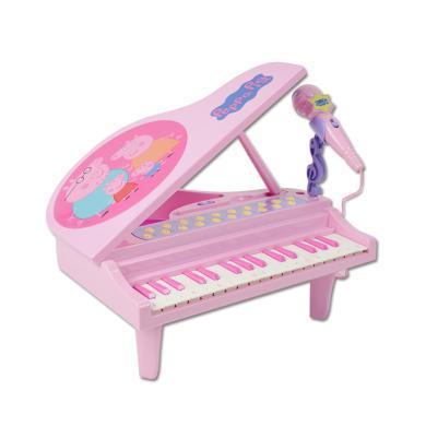 小豬佩奇迷你鋼琴兒童初學女孩男孩音樂玩具禮物佩奇鋼琴