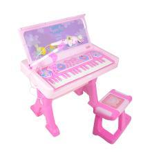 小猪佩奇儿童学习书桌电子琴钢琴玩具礼物女孩电子琴初学宝宝钢琴