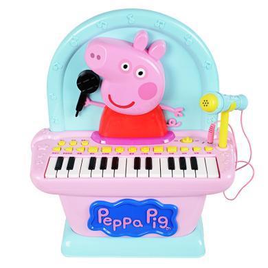 小豬佩奇兒童迷你電子琴鋼琴早教多功能音樂琴玩具女孩禮物玩具琴