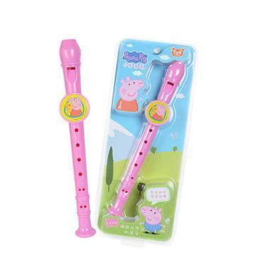 小豬佩奇笛子豎笛吹奏樂器兒童玩具寶寶初學早教笛子益智玩具口哨