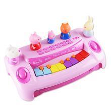 小猪佩奇儿童电子琴宝宝婴幼儿早教音乐玩具1-3-5岁礼物