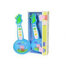 小猪佩奇吉他儿童玩具早教仿真迷你小乐器尤克里里宝宝初学者益智