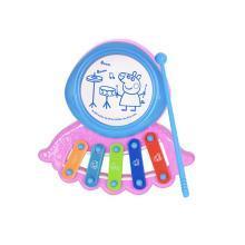 小猪佩奇宝宝手敲琴敲锤玩具琴儿童益智0-1-3岁男女宝宝8个月