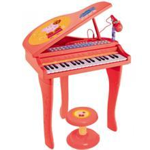 小猪佩奇宝宝电子琴儿童初学3岁女孩男孩音乐玩具琴礼物佩琪钢琴