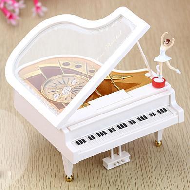 乐心多 跳舞钢琴音乐盒八音盒送女友儿童生日礼物女生浪漫礼品摆件 yqxg24