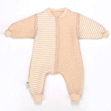 海勒兔 有机彩棉保暖防踢被 儿童宝宝防踢抱被分腿式睡袋空调被