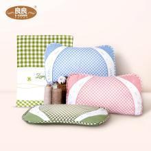 良良枕頭 嬰兒枕0-5歲新生兒兒童加長枕頭+嬰兒苧麻涼席 夏涼組合