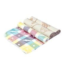 海勒兔纯棉多功能亲子巾被婴儿浴巾盖被抱被柔软保暖