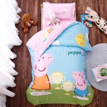 【秒杀价】妈唯乐 Marvelous Kids 全棉大版花幼儿园三件套幼儿园被子婴童被套床垫套枕套